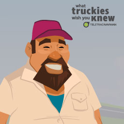 Attention Truckies! What do you wish people knew about road safety?