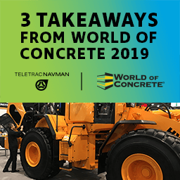 Three takeaways from World of Concrete 2019
