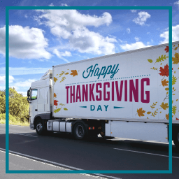 Forget turkeys: truckers are Thanksgiving's true MVPs